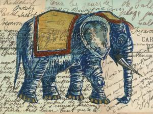 Tregaron Elephant small print